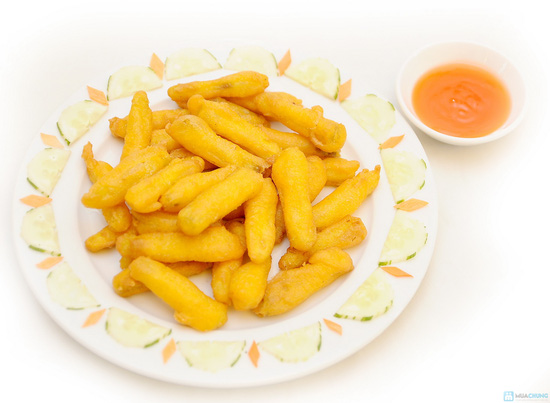 Lẩu hải sản chua cay, Gà nướng Phù Đổng.. cho 04 người tại Nhà hàng Phù Đổng Thiên Vương - Chỉ với 490.000đ - 5