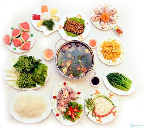 Thưởng thức Cá Tầm, Tôm sấy tuyết... cho 04 - 06 người tại Nhà hàng Phù Đổng Thiên Vương - Chỉ với 520.000đ - 1