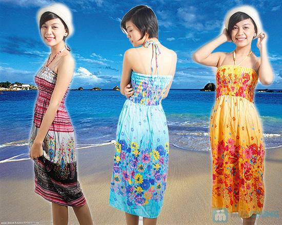 Tự tin đón nắng hè với đầm maxi dài 2 trong 1 dành cho bạn gái - Chỉ 95.000đ/ 01 chiếc - 1