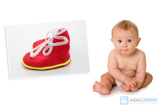 Giày vải xinh xắn cho bé - Giữ ấm và bảo vệ làn da non nớt của trẻ - Chỉ 55.000đ/05 đôi - 5