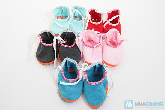 Giày vải xinh xắn cho bé - Giữ ấm và bảo vệ làn da non nớt của trẻ - Chỉ 55.000đ/05 đôi - 1