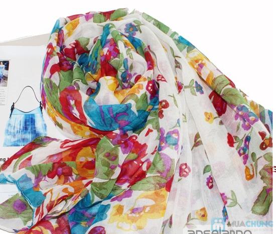 Trẻ trung với khăn hoa thời trang - Chỉ với 70.000đ - 3