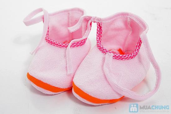 Giày vải xinh xắn cho bé - Giữ ấm và bảo vệ làn da non nớt của trẻ - Chỉ 55.000đ/05 đôi - 4