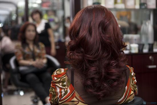Lựa chọn 01 trong 03 dịch vụ làm tóc: Uốn lạnh, Nhuộm, Ép phồng tại Salon tóc Hương Hà - Chỉ với 300.000đ - 7