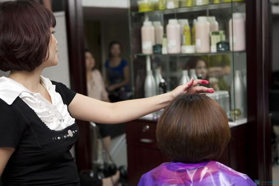 Lựa chọn 01 trong 03 dịch vụ làm tóc: Uốn lạnh, Nhuộm, Ép phồng tại Salon tóc Hương Hà - Chỉ với 300.000đ - 10