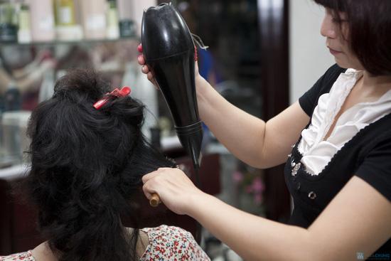Lựa chọn 01 trong 03 dịch vụ làm tóc: Uốn lạnh, Nhuộm, Ép phồng tại Salon tóc Hương Hà - Chỉ với 300.000đ - 4