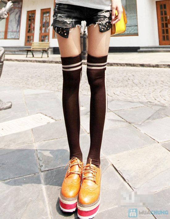 Ấm áp đón đông về với Combo 05 đôi tất len nữ dài tới đầu gối - Chỉ với 90.000đ - 11