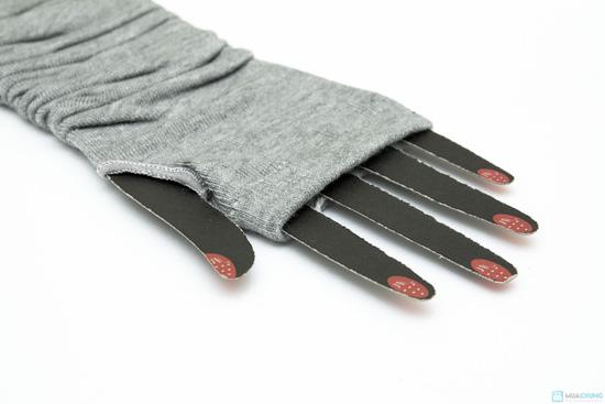 Găng tay dài hở ngón sành điệu - 6