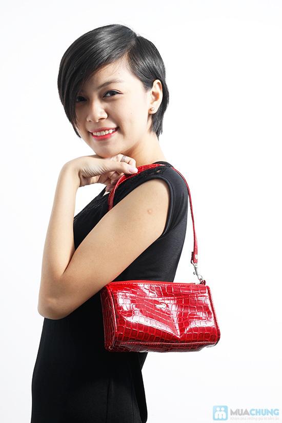Sang trọng và phong cách với túi xách mini da cá sấu sành điệu - Chỉ 75.000đ/01 chiếc - 1