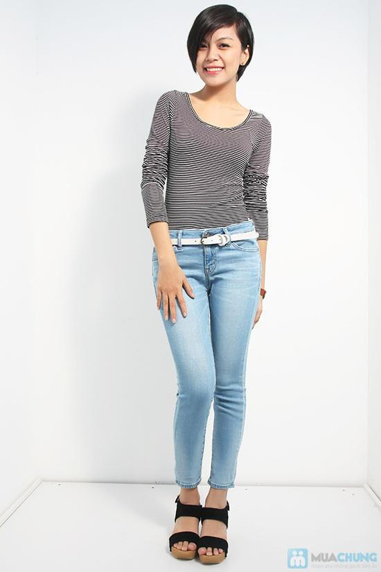 Quần jean dài cho nữ - Trẻ trung, năng động và gợi cảm - Chỉ 125.000đ/01 chiếc - 3