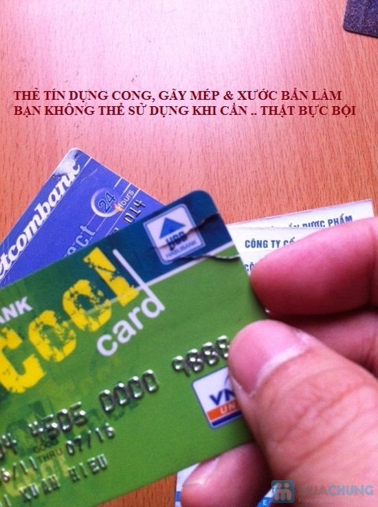 Ví nhôm Card-Guard - Vệ sỹ bảo vệ thẻ tín dụng, ATM, ID card, cardvisit.. cho bạn - Chỉ với 55.000đ - 2