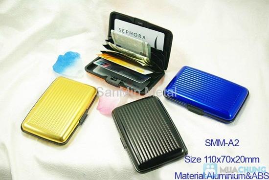 Ví nhôm Card-Guard - Vệ sỹ bảo vệ thẻ tín dụng, ATM, ID card, cardvisit.. cho bạn - Chỉ với 55.000đ - 13