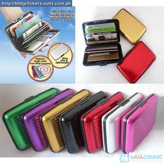 Ví nhôm Card-Guard - Vệ sỹ bảo vệ thẻ tín dụng, ATM, ID card, cardvisit.. cho bạn - Chỉ với 55.000đ - 7