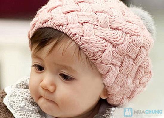 hướng dẫn em đan mũ hình bánh tiêu với Non-len-hinh-banh-tieu-de-thuong-cho-be-Chi-84000d-01-chiec
