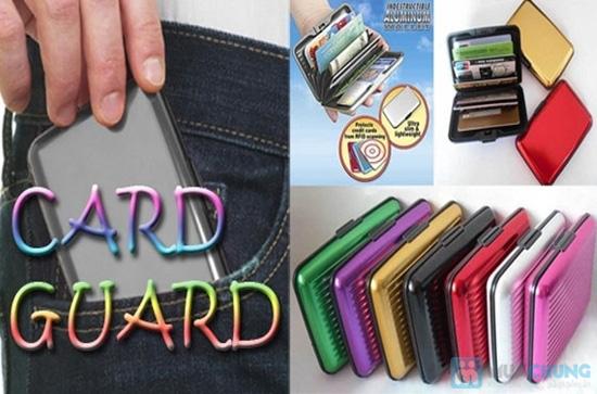 Ví nhôm Card-Guard - Vệ sỹ bảo vệ thẻ tín dụng, ATM, ID card, cardvisit.. cho bạn - Chỉ với 55.000đ - 12
