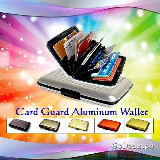 Ví nhôm Card-Guard - Vệ sỹ bảo vệ thẻ tín dụng, ATM, ID card, cardvisit.. cho bạn - Chỉ với 55.000đ - 8