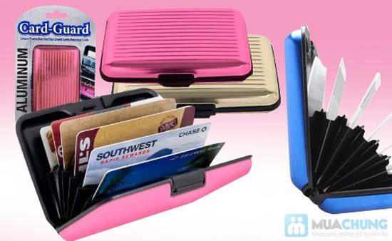 Ví nhôm Card-Guard - Vệ sỹ bảo vệ thẻ tín dụng, ATM, ID card, cardvisit.. cho bạn - Chỉ với 55.000đ - 10