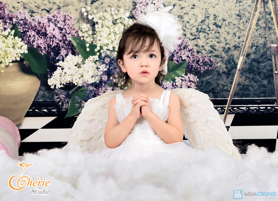 Lưu lại kỷ niệm tuổi thơ của bé với Gói chụp ảnh cho bé yêu tại Chérie Studio - Chỉ với 325.000đ - 6