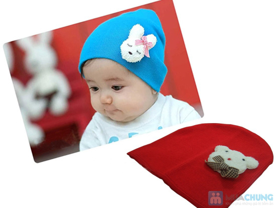 Nón len cực cute cho bé - Chỉ 85.000đ/ 03 cái - 4