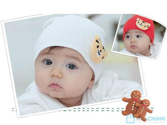Nón len cực cute cho bé - Chỉ 85.000đ/ 03 cái - 1