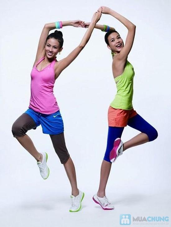 Khóa học Aerobic (30 buổi)  tại CLB Thể dục Thẩm mỹ Eva - Bí quyết đơn giản để có một cơ thể đẹp, sức khỏe dẻo dai - Chỉ với 187.000đ - 1