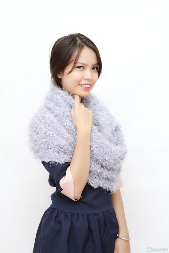 áo khoác, đầm bó sát, váy ngắn thời trang với KHĂN