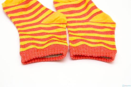 Combo 10 đôi tất kẻ sọc dành cho bé yêu từ sơ sinh đến 1 tuổi - 7