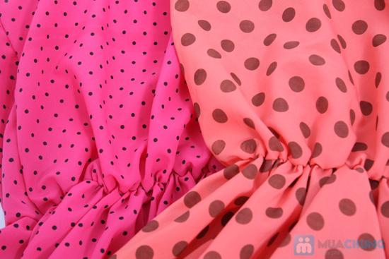Nữ tính và sành điệu với đầm voan chấm bi thời trang dành cho bạn gái - Chỉ 115.000đ/01 chiếc - 6