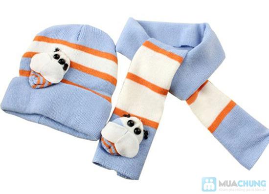 Bộ 01 khăn choàng + 01 nón - Chọ bé luôn ấp áp những lúc xuống phố - Chỉ 90.000đ/ 01 bộ - 6
