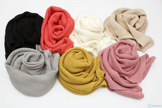 Khăn len ( TQ, nhiều màu) - 6