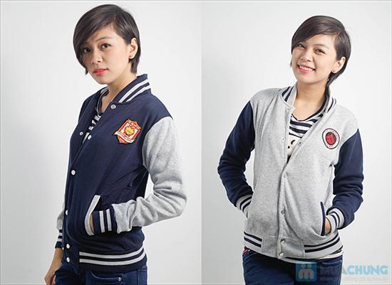 Áo khoác nữ bóng chày trẻ trung - Chỉ 107.000đ/ 01 áo - 2