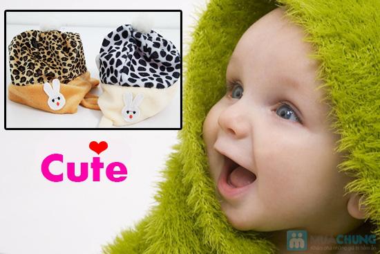 Bé yêu thật dễ thương với mũ nỉ xinh xắn - Giữ ấm những ngày mùa đông - Chỉ 75.000đ/ 02 chiếc - 6