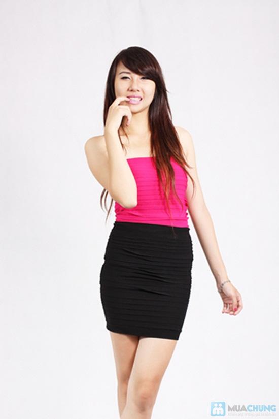 Váy mini juyp thời trang cho bạn gái - Chỉ 65.000đ - 1