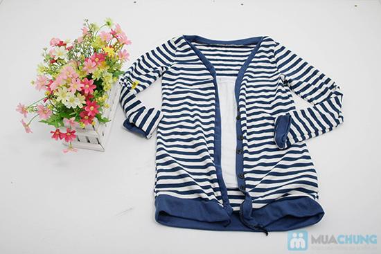 Combo áo khoác + áo lửng thời trang dành cho bạn nữ - Chỉ 110.000đ/01 combo - 6