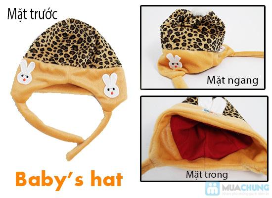 Bé yêu thật dễ thương với mũ nỉ xinh xắn - Giữ ấm những ngày mùa đông - Chỉ 75.000đ/ 02 chiếc - 2