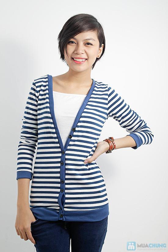 Combo áo khoác + áo lửng thời trang dành cho bạn nữ - Chỉ 110.000đ/01 combo - 1