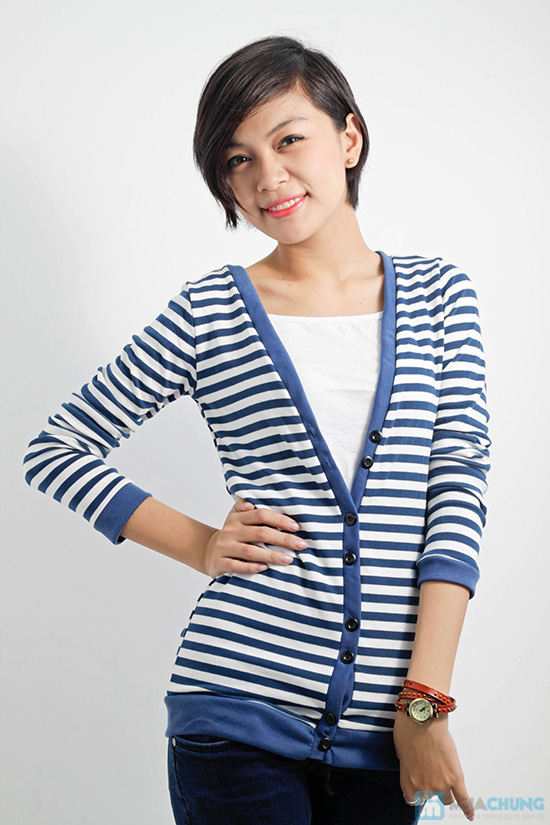 Combo áo khoác + áo lửng thời trang dành cho bạn nữ - Chỉ 110.000đ/01 combo - 4
