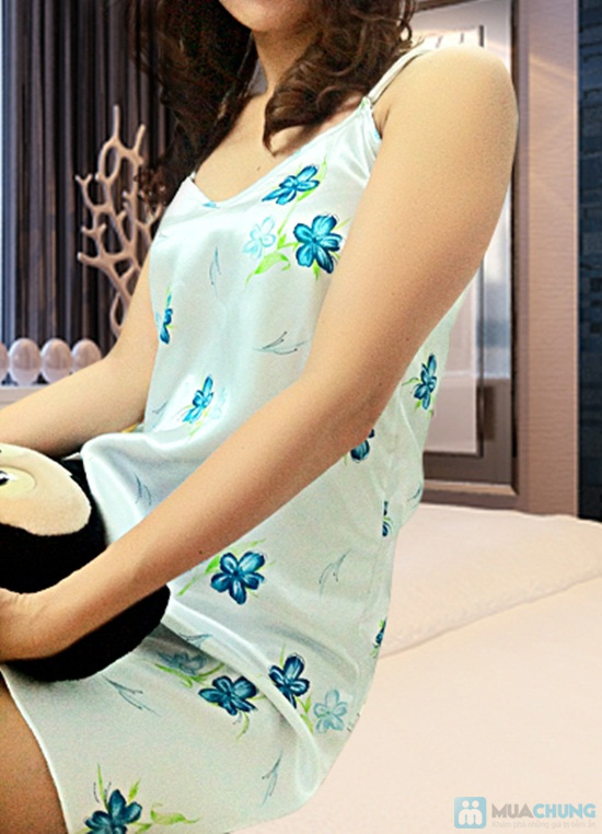Đầm ngủ + Áo khoác sexy - Bạn gái gợi cảm và quyến rũ - Chỉ 105.000đ/01 chiếc - 5