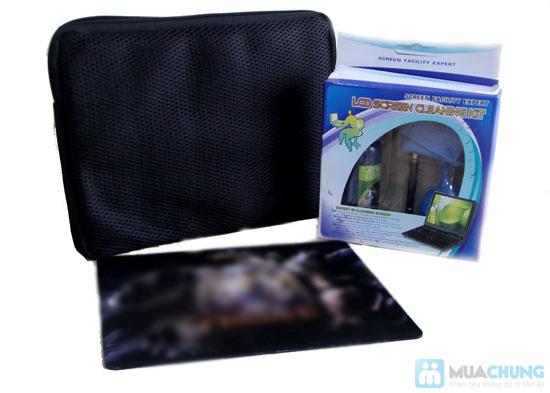 Combo túi chống sốc + bộ vệ sinh + miếng lót chuột - Chỉ 70.000đ - 2