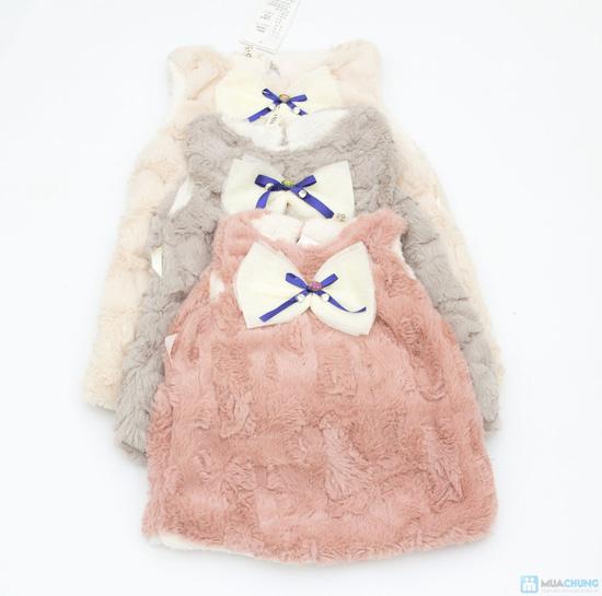 Váy lông mềm mại cho bé - 2