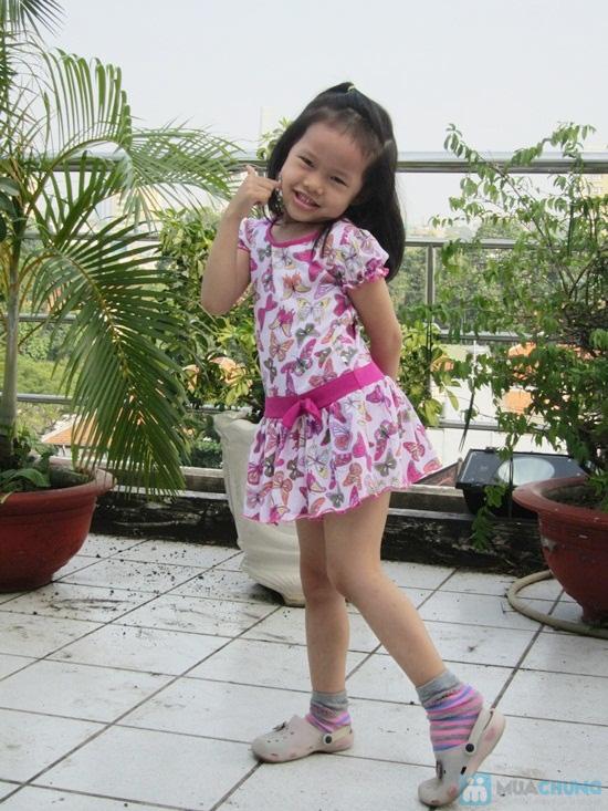 Bé gái thỏa sức điệu đà với đầm thun cực kì xinh xắn - Chỉ 55.000đ/ 01 chiếc - 1