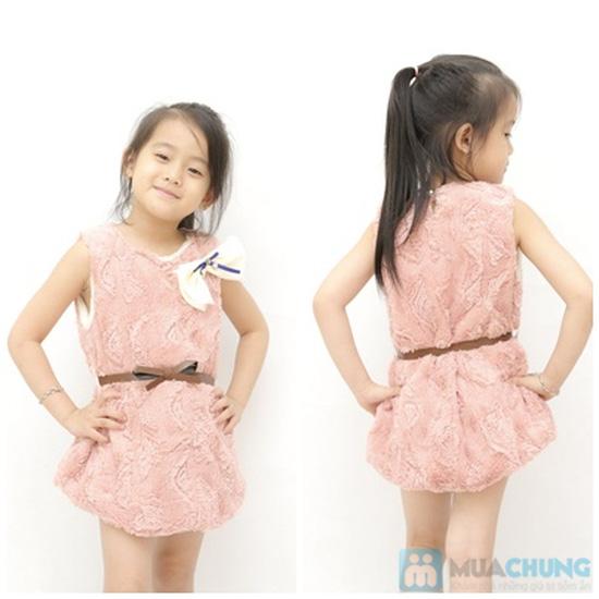 Váy lông mềm mại cho bé - 4