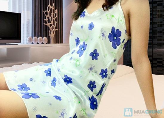 Đầm ngủ + Áo khoác sexy - Bạn gái gợi cảm và quyến rũ - Chỉ 105.000đ/01 chiếc - 6