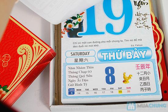 Bộ lịch ngày đóng tường năm 2013 - Sang trọng và tiện