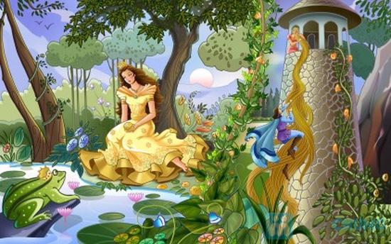 Truyện kể về các hoàng tử, công chúa – Thế giới tuổi thần tiên. Chỉ với 89.000đ - 15