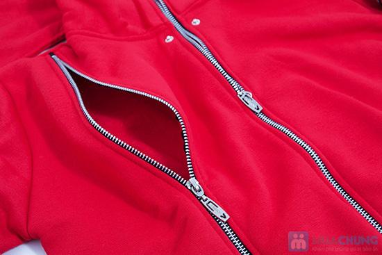 Ấm áp cùng áo khoác kéo khóa đôi - Chỉ 115.000đ - 6