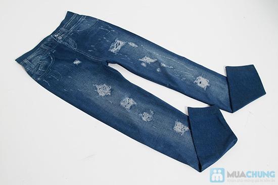 Quần legging giả Jeans rách - Chỉ 75.000đ/01 chiếc - 4