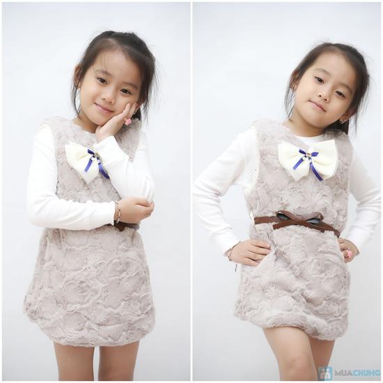 Váy lông mềm mại cho bé - 1