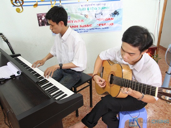 Khóa học nhạc và nhạc cụ (2 tháng) tại Trung tâm Khuyến học Giai Điệu Xanh - Chỉ 100.000đ được phiếu trị giá 1.200.000đ - 12