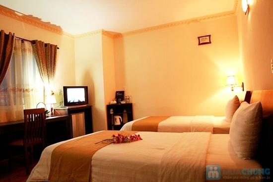 Khách sạn chuẩn 3* quốc tế Trendy, bên bờ Đông của sông Hàn thơ mộng. Phòng Superior cho 02 người kèm ăn sáng. Chỉ 400.000đ/đêm - 2